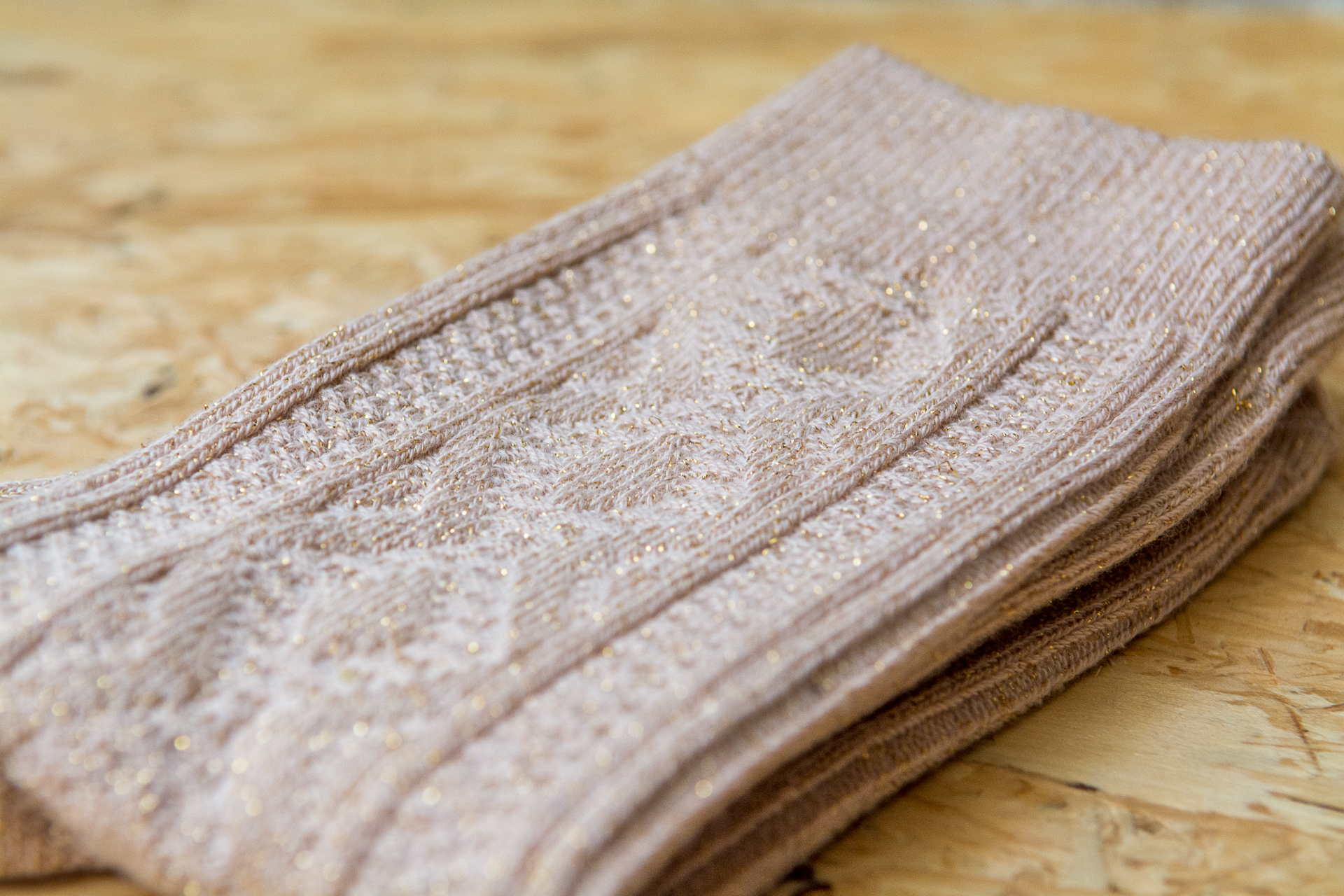 Chaussettes Jeanne beige